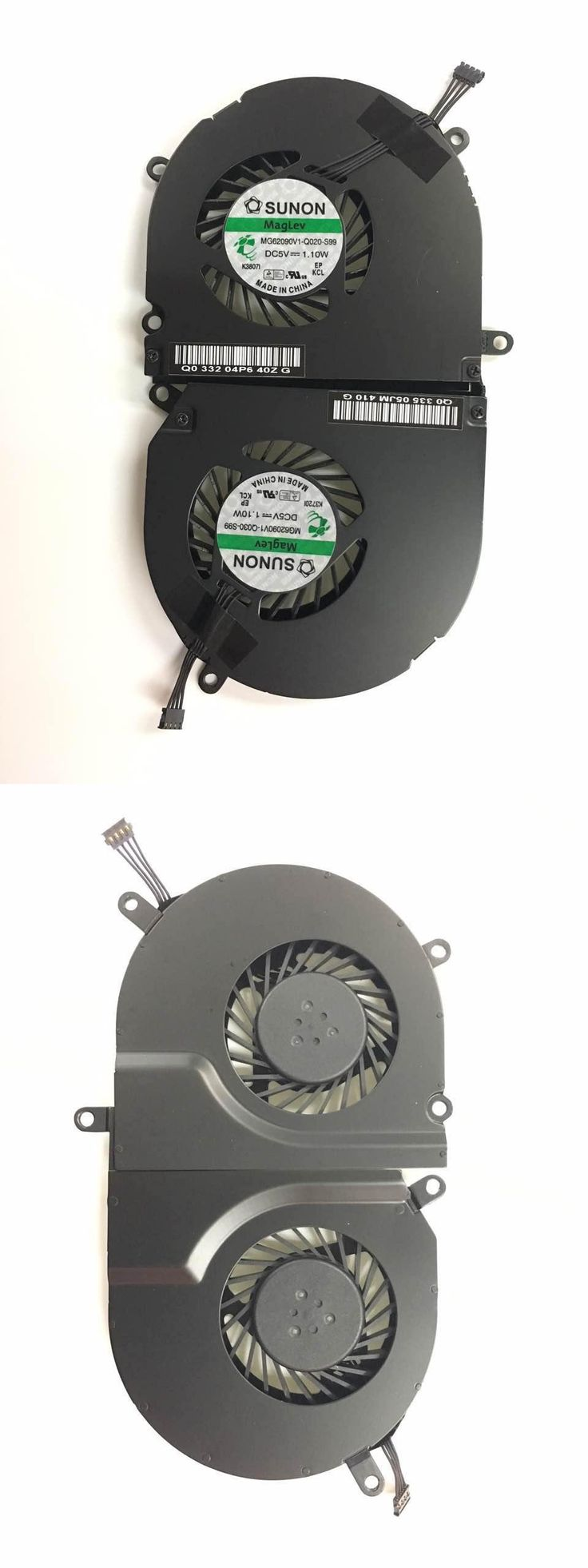 """[Visit to Buy] New For  Macbook Pro 15"""" A1286 Left+right Side Cpu Cooling Fan 2009 2010 2011 Cooler Heatsink  #Advertisement"""