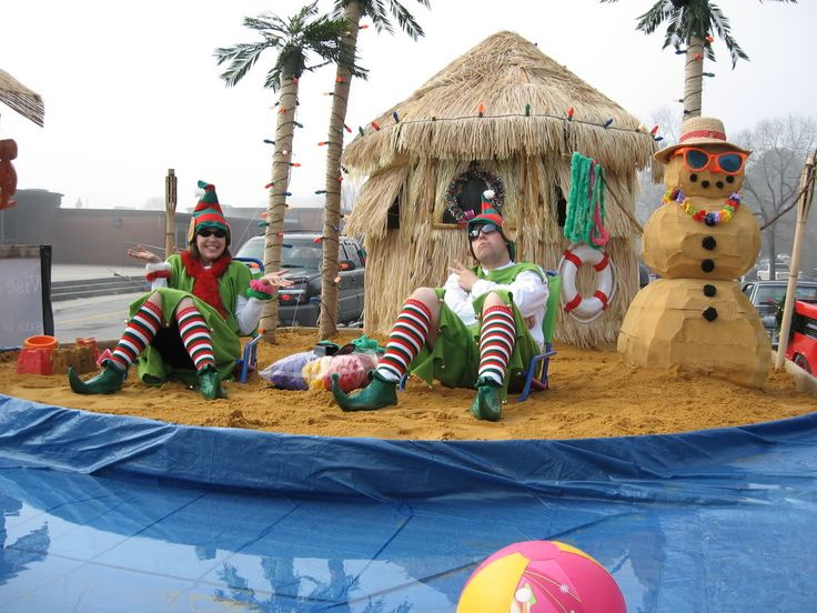Best 25+ Christmas parade floats ideas on Pinterest : Christmas float ideas, Office christmas ...