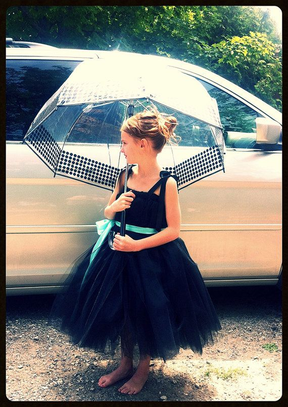 Super Cute Holly Golightly little black tutu dress by #princessdoodlebeans on #etsy