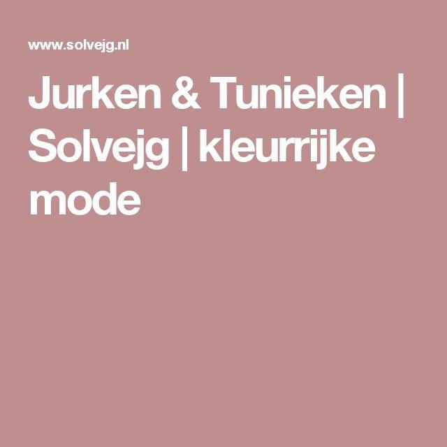 Jurken & Tunieken | Solvejg | kleurrijke mode