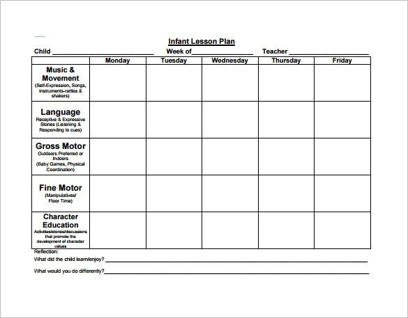 2 Year Old Lesson Plan Template Preschool Lesson Plan Template 11 Fre Preschool Lesson Plan Template Toddler Lesson Plans Template Lesson Plan Template Free Free lesson plan template for preschool
