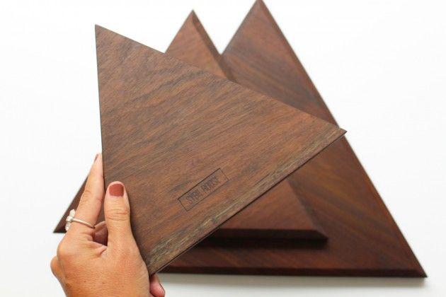 Tablas de queso en madera nogal y acabados orgánicos // Sybil Roose (Visybilidad)