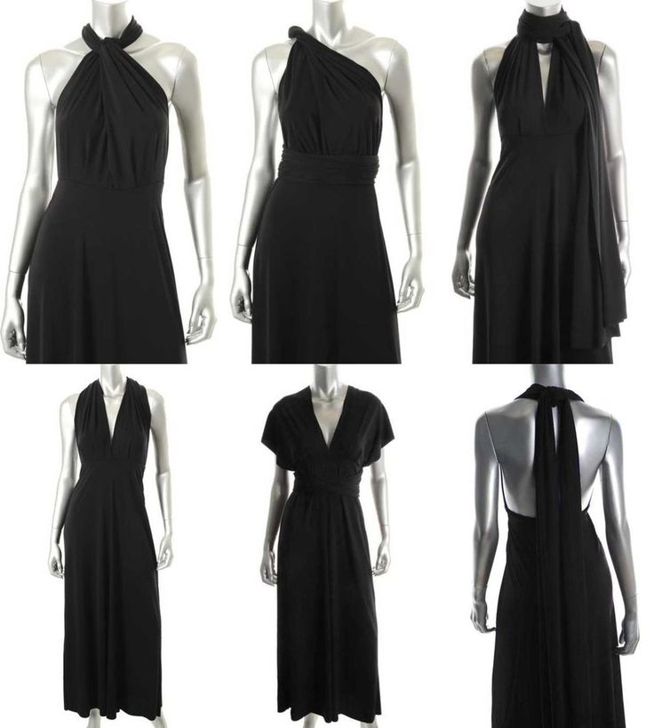 VICTORIA'S 7-IN-1 MULTI-WAY MAXI CONVERTIBLE LONG DRESSES S,M,L,XL  --------Now on Sale for US$39.99!! ----------Please Click The Photo to see details!!