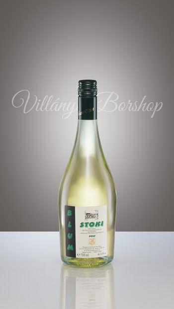Blum Stoki  Chardonnayból készült szárazgyöngyöző bor.