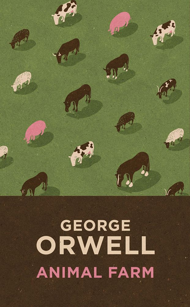 """John Holcroft. Animal farm. """"All animals are equal. Some are just more equal than others."""" Pigs."""