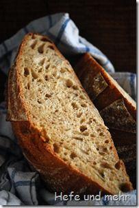 leckeres Honig-Dinkel-Brot: Ein Hauch von Honigsüße verschmilzt mit dem Aroma des Dinkels, der milde Sauerteig sorgt für eine hintergründige Säure.