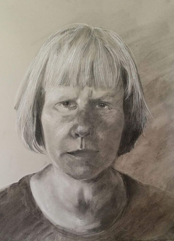 Selfportrait of Anne Kimilainen, made 050717
