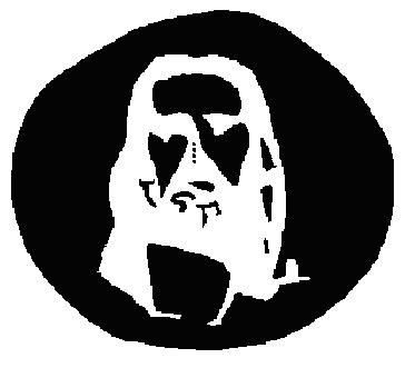 To see the Jesus illusion in action, stare at the four dots in the center of the image for approximately 30 seconds, then quickly divert your eyes towards a blank surface such as a wall or ceiling. You should see the image transferred to that surface.