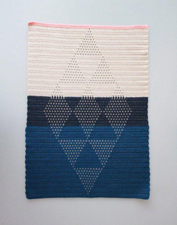 Opskrift på Harlekinshåndklæde