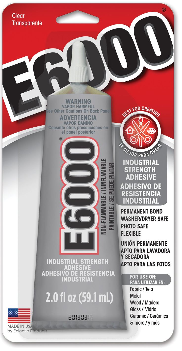 E6000 Craft Adhesive Industrial Strength Crafting Glue