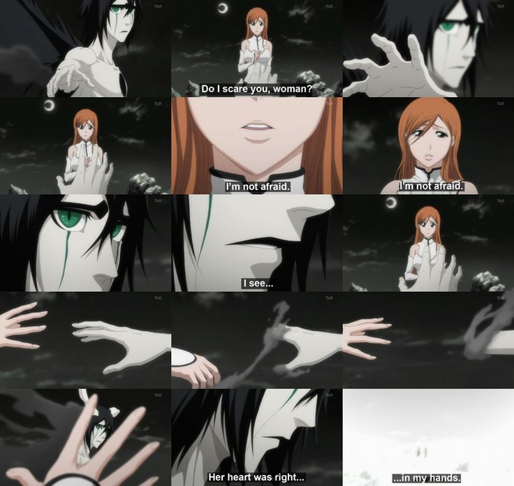For me, this was one of the saddest scenes in the whole Bleach anime.