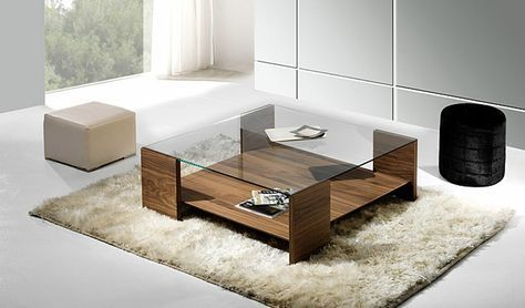 Para que tu sala se vea más elegante y moderna, aquí le muestro algunas fotos de unas preciosas mesas de cristal para salas...