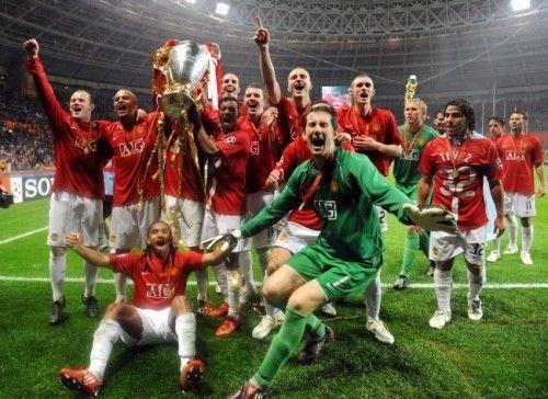 Manchester United, (v Chelsea, UEFA Champions League 2008)
