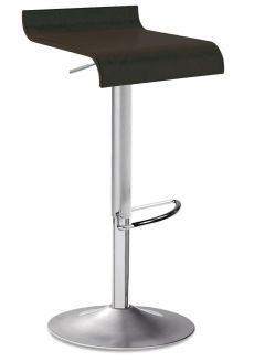 Swing SG barstol - Svart läder