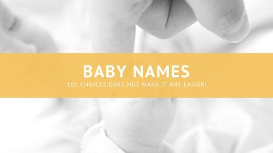 Baby Names can be hard to decide on! With so much choice how do you know which name you'll give you little one when they arrive?