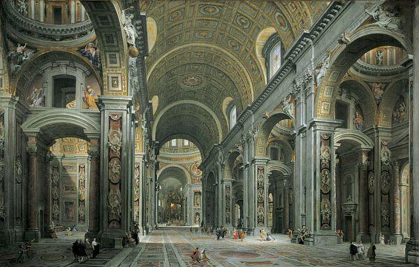 Interior Of St. Peter's Basilica - Vatican City