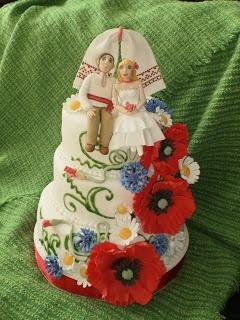 Ukrainian cake art
