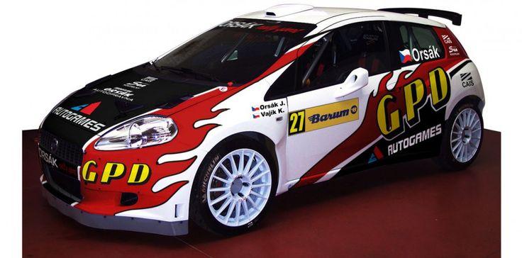Orsák Rally Sport - J. Orsák (Fiat Abarth Grande Punto S2000) - 2009