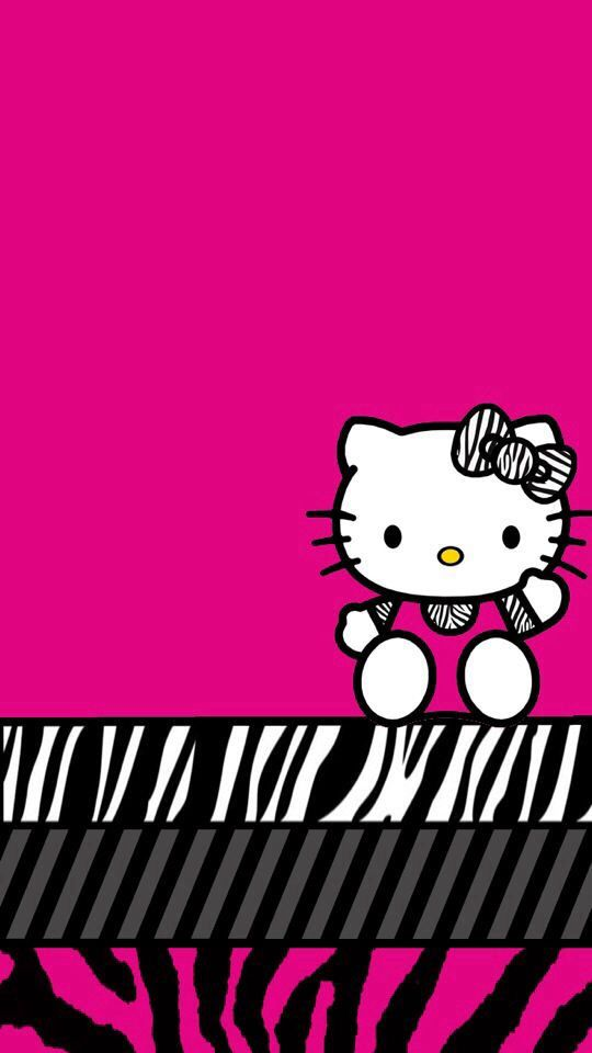 29 Best Pink And Purple Neon Hello Kitty Images On