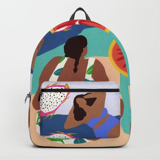 Fruity Bay Backpack by Helo Birdie at Society6 #Backpack #society6