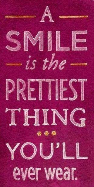 The power of a smile! =) www.SecretFashionFixes.ie