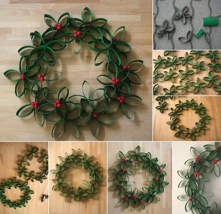 10 Fabulous Paper Roll Crafts for the Christmas     - http://www.amazinginteriordesign.com/10-fabulous-paper-roll-crafts-christmas/