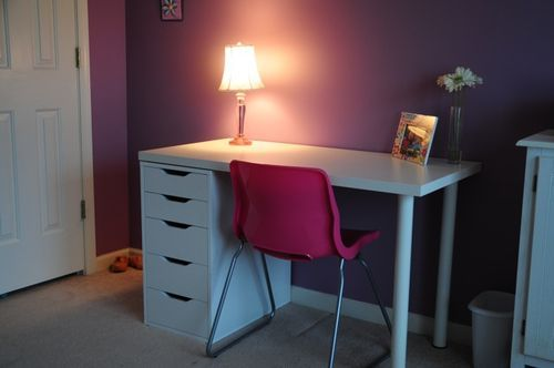 Ikea Linnmon Adils Table With Alex Drawer Kids Rooms
