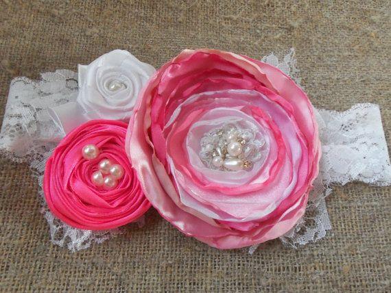Девушка-обогатительного Девушка туалетный держатель младенца розовые волосы луки розовый кружевной цветок туалетный новорожденных заставку