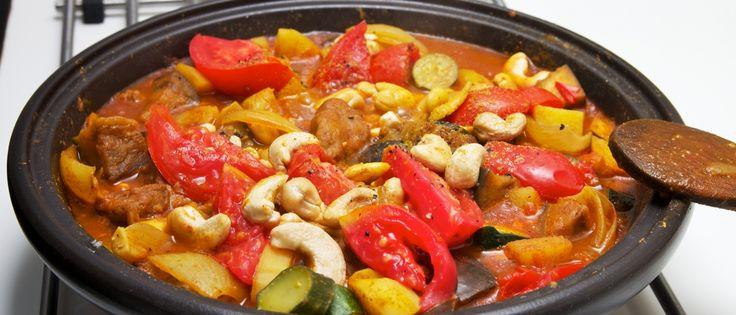 Tajine met seitan en groenten | Donderdag Veggiedag