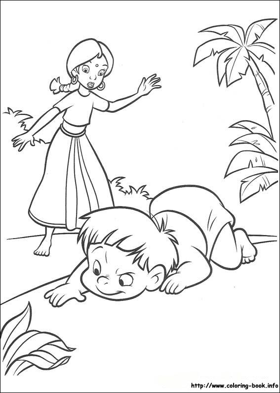 Naughty Boy Coloring Page From Jungle Book Category Select 27444 Printable Crafts Of Cartoons Nature Animals Bible And Many More