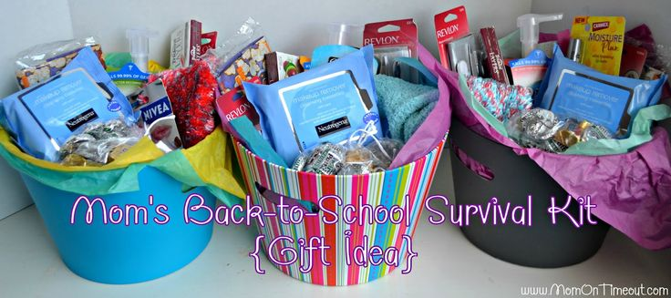 Mom's Back-to-School Survival Kits! {Gift Idea} – Mom On Timeout