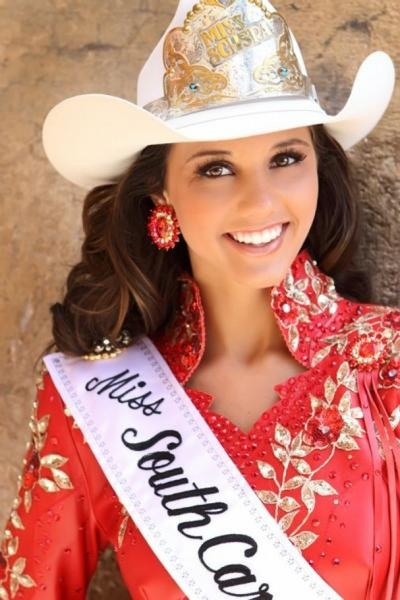 Sash, Hat, Bling...rodeo queen hair and makeup