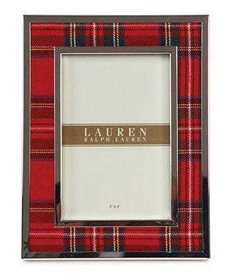 "Clearly Tartan 4"" x 6"" - Lauren Ralph Lauren"