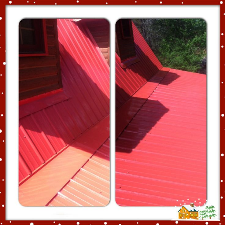 Happy Campers Painting - Pressure Washing job before and after.