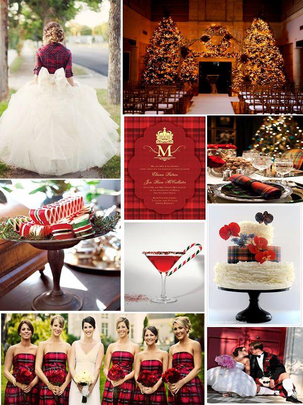 Tartan Plaid wedding inspiration