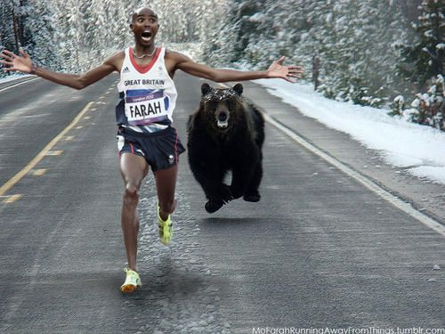 mo farah running sway from things