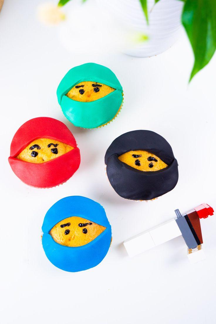Ninjago Backmuffins – sehr einfaches Rezept – perfekt für eine Geburt …   – Kuchen kindergeburtstag