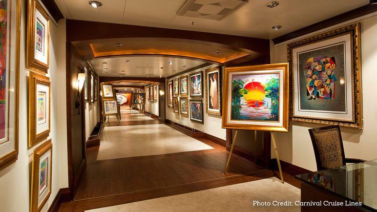 L'arte a bordo delle navi da crociera