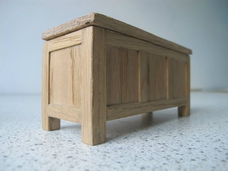 Hand crafted Tudor style dollhouse furniture. Hand crafted from reclaimed oak. Full description on my website.