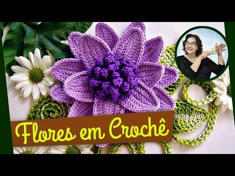 CROCHE FLORES 042 REPOLHUDA 1 - PARTE 1, My Crafts and DIY Projects