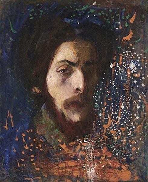 Борис Анисфельд. Автопортрет. 1905 г.