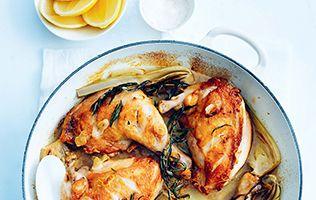 Une délicieuse recette de poulet rôti signée Donna Hay.