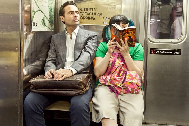 Photographer Ourit Ben-Haim takes photos of New Yorkers reading on the subway—everything from the Bible to Lolita to Star Wars.