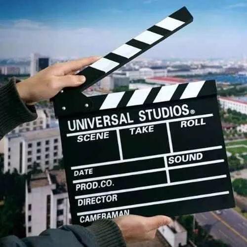 claquete de cinema - universal studios