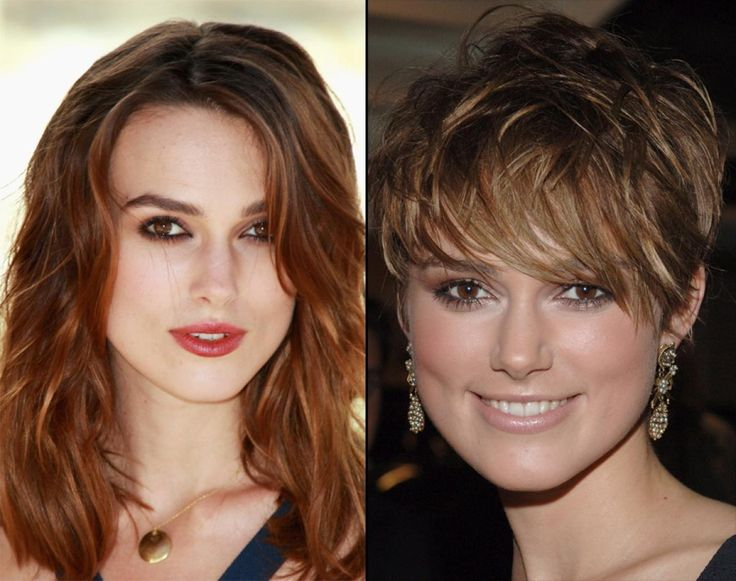Keira Knightley has one of those faces that are so beautiful, it doesn't matter what her hair looks like. That said, it's a shame her 2005 bangs covered so much of it.