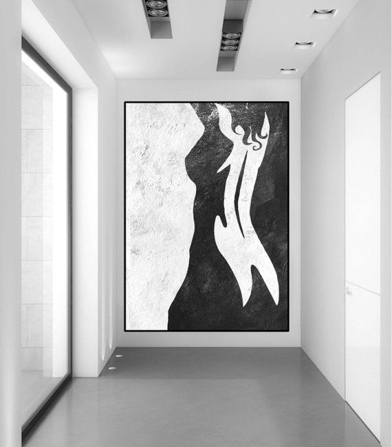 abstract nude woman painting original abstract painting acrylic rh pinterest com