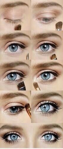 Bigger eyes with everyday makeup.