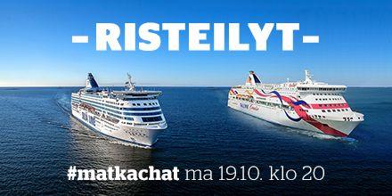 #matkachat -kooste: Lue parhaat risteilyvinkit niin Itämerelle kuin muillekin maailman merille!
