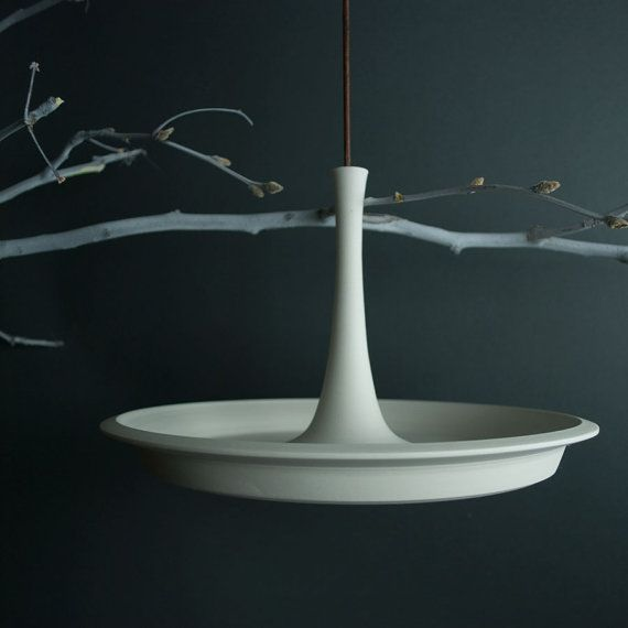 Hanging Bird Bath Porcelain Bird Feeder
