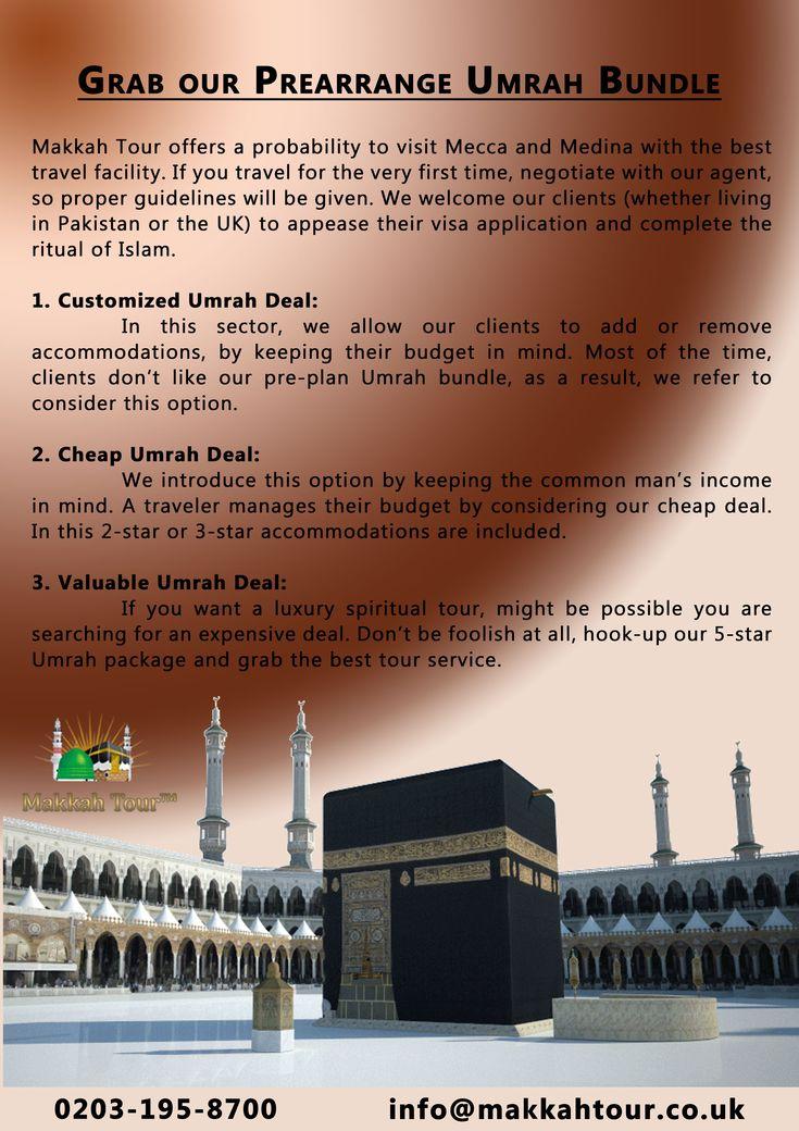 Grab our Prearrange Umrah Bundle